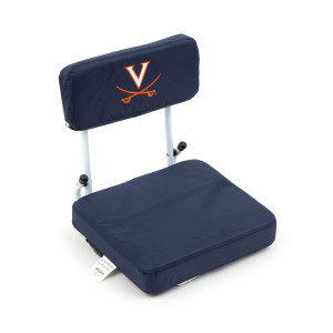 Virginia No Zipper Hard Back Stadium Seat