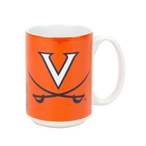 UVA 15oz Burst Coffee Mug