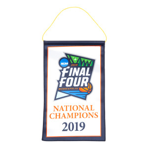 "6"" x 9"" Virginia Basketball 2019 National Champions Banner"