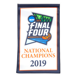 2' x 3' Virginia Basketball 2019 National Champions Banner