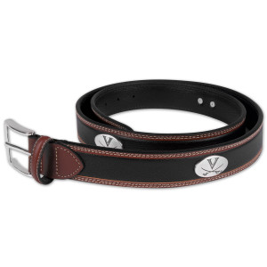 UVA Two Tone Leather Belt