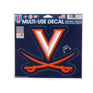 "University of Virginia Multi-Use Decal - 4.5"" x 5.75"""
