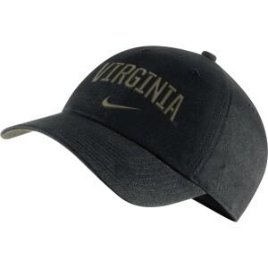 University Of Virginia Nike Heritage86 Hat - Black