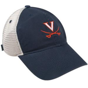 UVA Youth EZ Twill Trucker Adjustible Cap