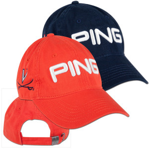 UVA PING Washed Chino Twill Adjustable Cap