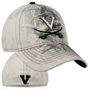 UVA Battle Fade Mossy Oak Stretch Cap