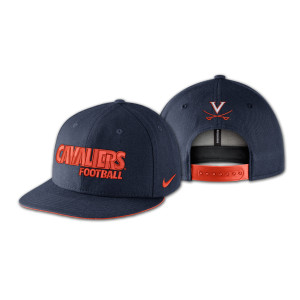 UVA Nike True Football Adjustible Cap
