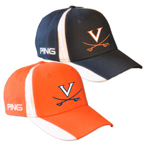 UVA PING Color Block Twill Structured Velcro Cap