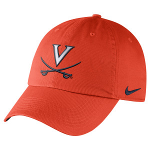 UVA Heritage 86 Dri-Fit Authentic Crew Orange