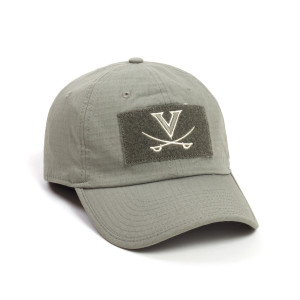 University of Virginia USA Flag Tactical Hat