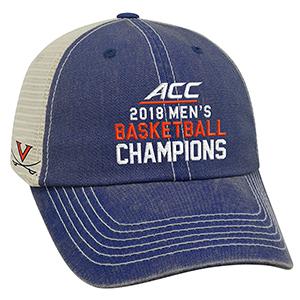 University of Virginia 2018 ACC Champions Trucker Hat