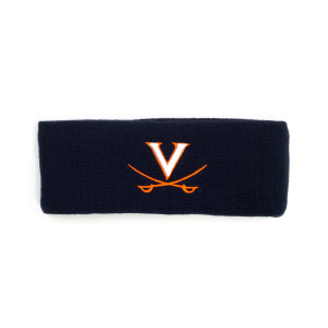 University of Virginia Navy Headband