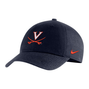 University of Virginia Nike Navy V-Sabre Hat