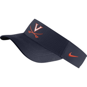 University of Virginia Nike Navy V-sabre Visor