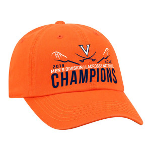 Virginia Lacrosse 2019 National Champs Classic Orange Crew Hat