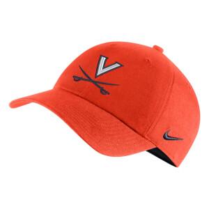 University of Virginia 2021 Nike Heritage Hat - Orange