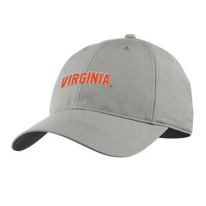 University of Virginia 2021 Grey Performance Cap