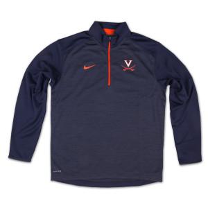 UVA Coaches Knit Performance Half Zip