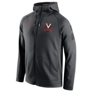 UVA Basketball NIKE ELITE Stripe Full-Zip Hoodie