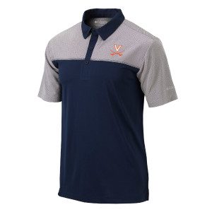 University of Virginia Columbia Front Nine Polo