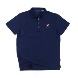 University of Virginia LUXTEC Stretch Jersey Polo