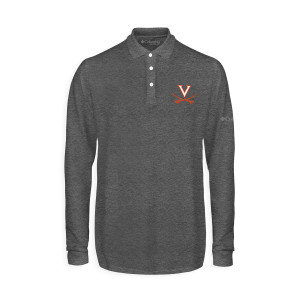 University of Virginia Columbia Omni-Wick Pin High Polo