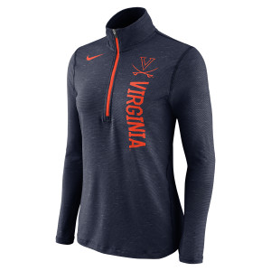 NIKE UVA Women's Quarter-Zip Element Top