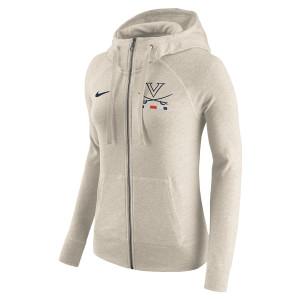 University of Virginia Nike Full-Zip Ladies Hoodie