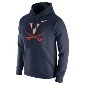 University of Virginia Nike Fleece Pullover Hoodie