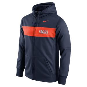 University of Virginia Nike Full-Zip Therma-Fit Hoodie