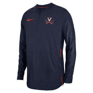 University of Virginia Nike Half-Zip Crew Neck Jacket
