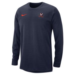 University of Virginia Nike Therma-Fit Crew Neck Sweatshirt