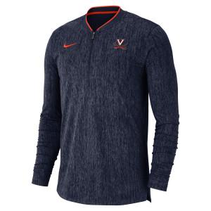 University of Virginia Nike Crew Neck Half-Zip Sweatshirt