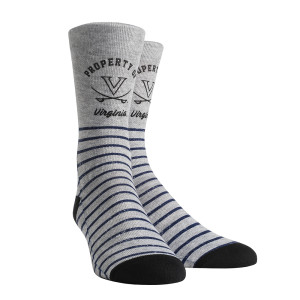 University of Virginia Cavaliers Property Of Adult Socks