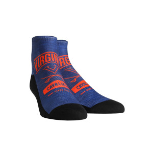 University of Virginia Cavaliers Arch Icon Adult Socks