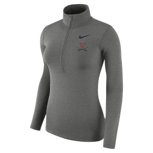 University of Virginia 2018 Nike Ladies Dri-FIT Half Zip Sweat Shirt