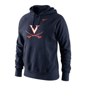 University of Virginia Classic Logo Navy Hoodie