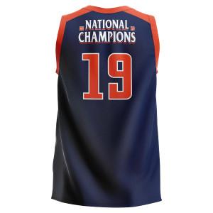UVA 2019 National Champions Youth Navy Jersey