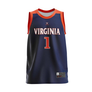 UVA 2019 #1 National Champions Adult Navy Jersey