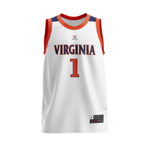 UVA 2019 #1 National Champions Adult White Jersey