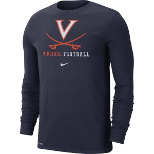 University of Virginia Football Longsleeve Crew