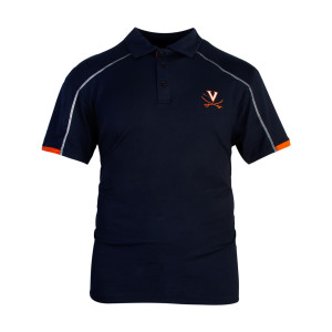 University of Virginia Relaxed Fit Navy Polo