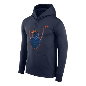 UVA Cavalier Dri-FIT Performance Legend Navy Hoodie