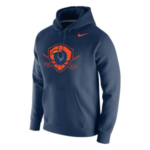 UVA Shield Dri-FIT Performance Legend Navy Hoodie