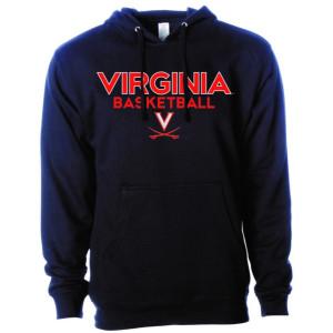 Navy Virginia Basketball Hoodie