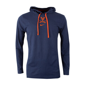University of Virginia Nike Longsleeve Hooded Top