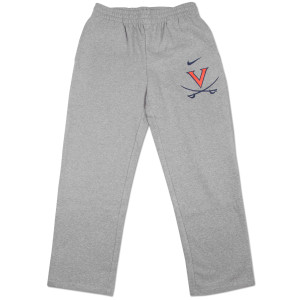 UVA Classic Open-Hem Fleece Pants