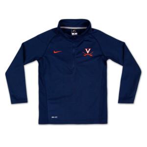 UVA Boys Elite Mock 1/4 Zip Pullover