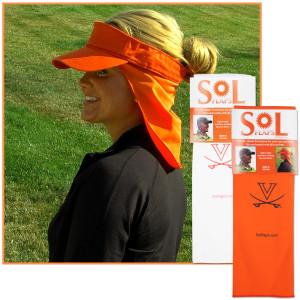 UVA Solflap - Orange