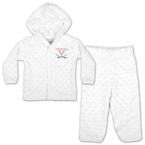 UVA Infant Snap Hoody/Pull Pant